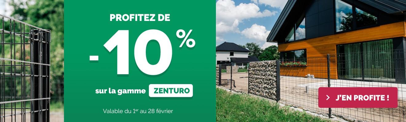 Promotion février 2019 - Tout Zenturo à - 10 %